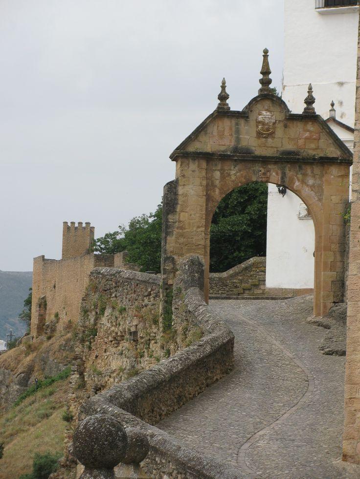 Entrance to Castle in Ronda, Spain