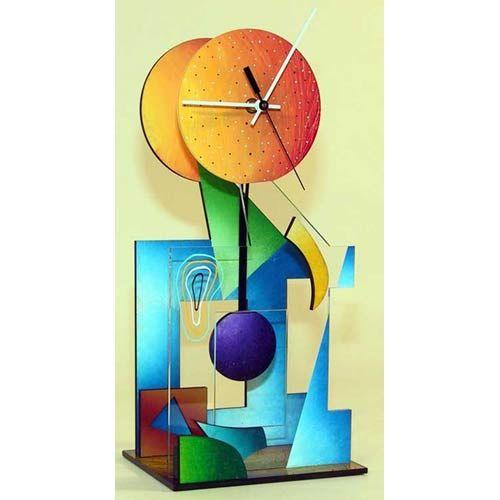 Ebony Color Table Clock By David Scherer David Scherer Studios Tabletop & Mantle Clocks Ho