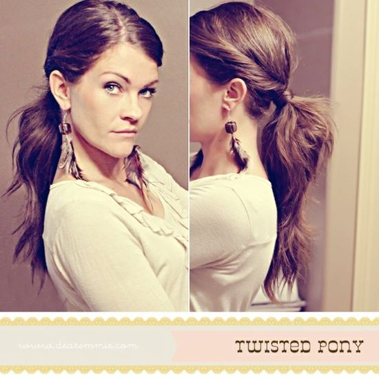 Cute Ponytail Hairstyle Ideas — Wedding Ideas, Wedding Trends, and Wedding Galleries