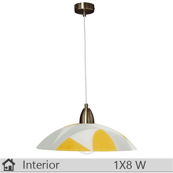 Pendul iluminat decorativ interior Klausen, gama Larissa, model D400 S