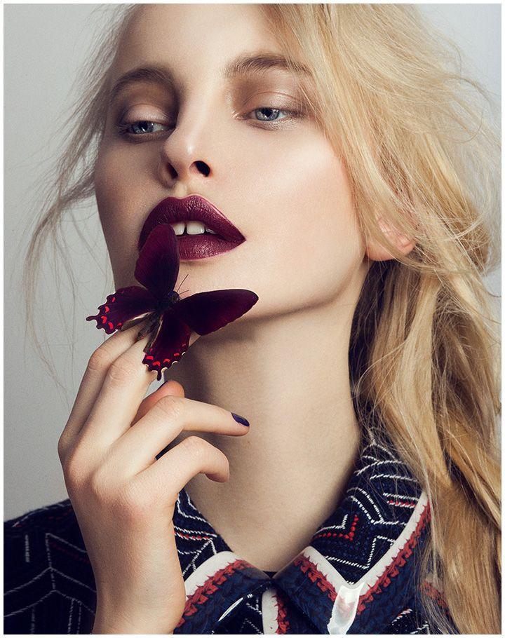 Magazine: Quality Magazine Germany Beauty Editorial: Butterfly Photographer: Mar...