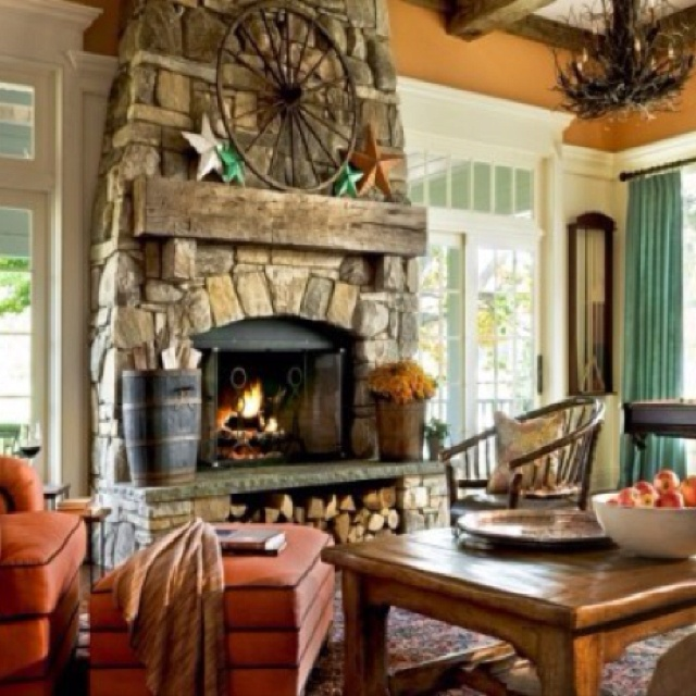 Crisp Architects Fireplaces: 1000+ Ideas About Country Fireplace On Pinterest