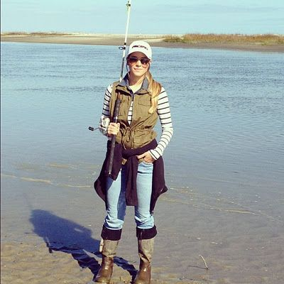 If was to going fishing in the winter this is totally what I'd wear!