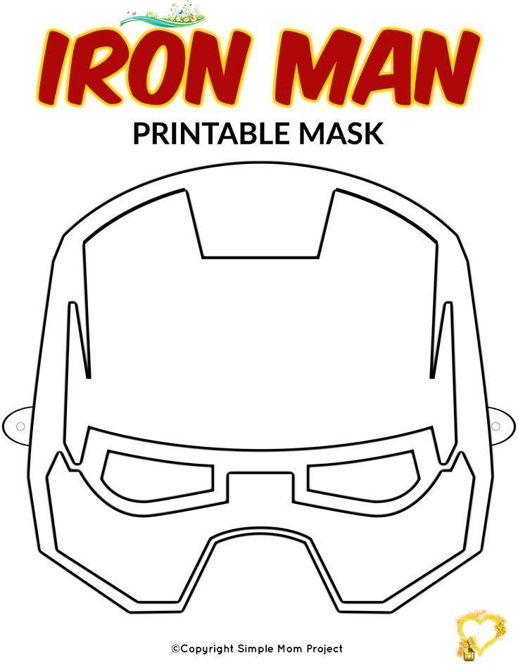 Printable Ironman Mask Google Search Iron Man Mask Iron Man Birthday Iron Man