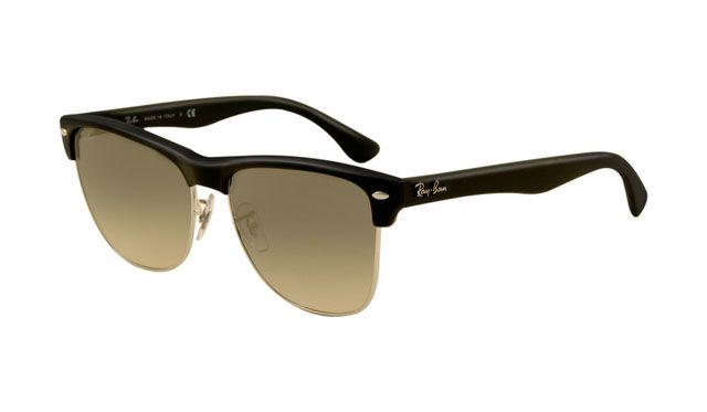 $19.88! #Ray #Ban #Sunglasses Ray Ban RB4175 Sunglasses Shiny Black Frame Grey Lens
