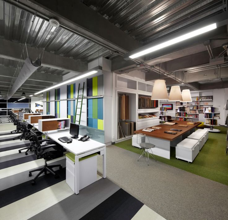 Arquitectura e interiores 5 id e pour bureau design for Cool office interiors