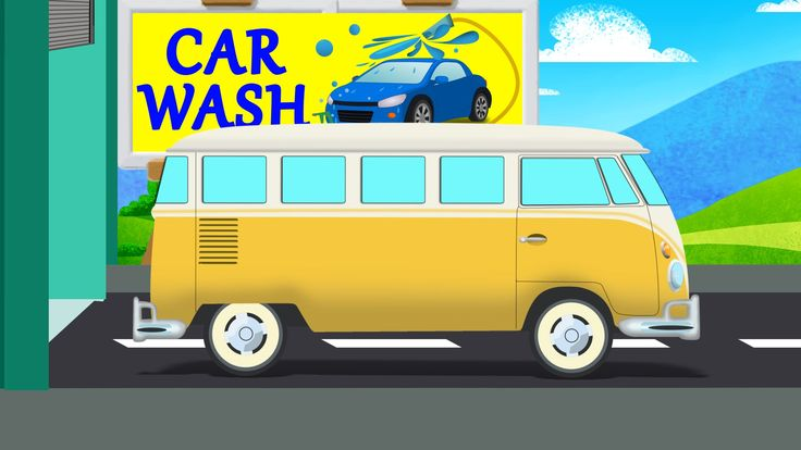 After the busy day school van needs to cleaned and sparkling for a new day. Fun learning for your kids. #schoolvan #carwash #kidsvideos #babyvideos #fun #learning #educational #kids #parenting