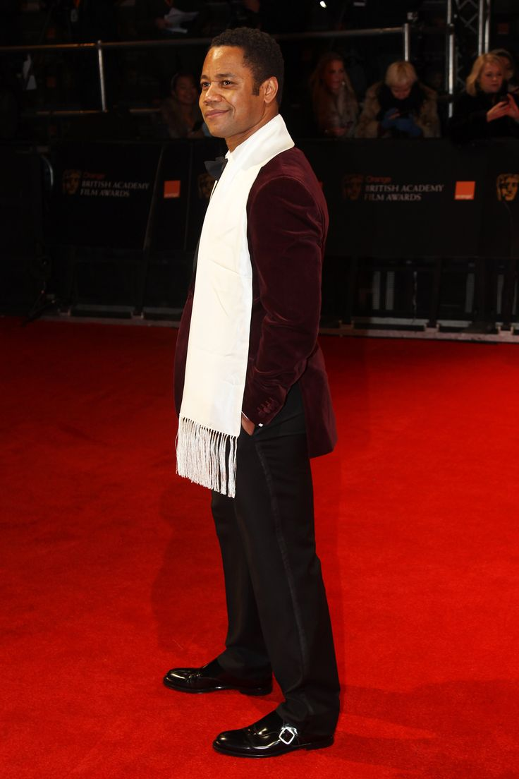 Cuba Gooding Junior wearing 'Holborn' to the 2012 Orange BAFTAs