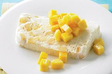 Australia Day - Macadamia Mango Icecream