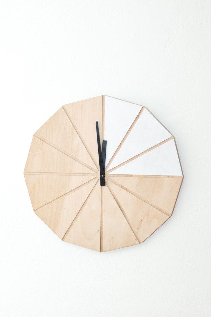 Segment Clock - White from Koromiko via The Third Row