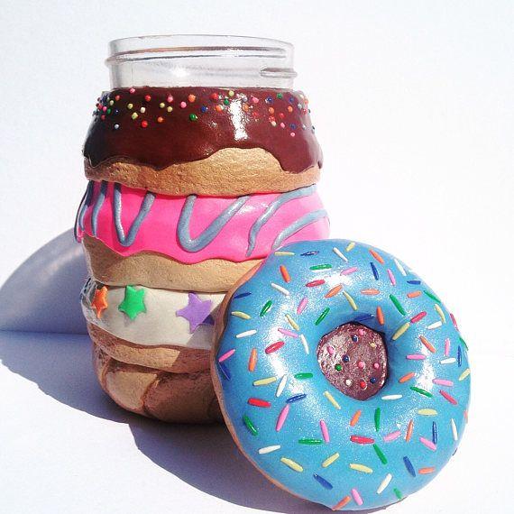 Baker's Dozen Donut Stack Stash Jar Summer Phish Tour