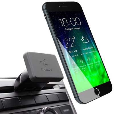 Koomus Pro CD-M Universal CD Slot Magnetic Cradle-less Smartphone Car Mount Holder