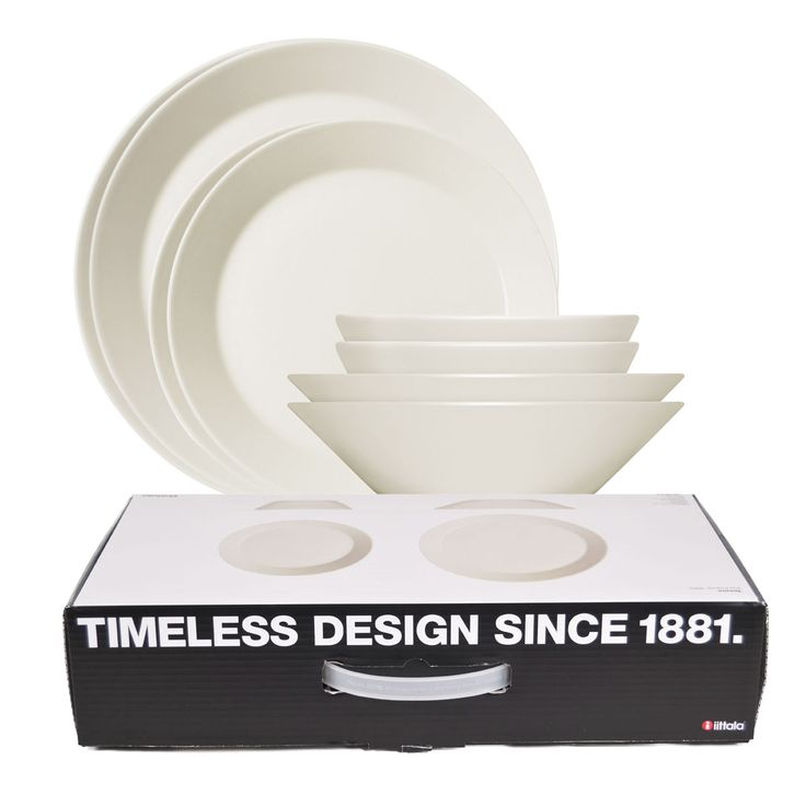 A set of simple white dinnerware is an essential for every home, but so many options can feel overwhelming. Kaj Franck's classic has been celebrated for its durability and beauty since 1952, making it