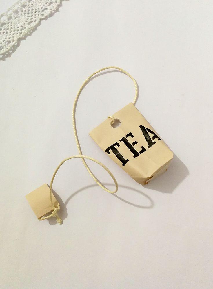 Creojam Tea Bag Bookmark Origami Folding Diy Tutorial Crafts Easy Diy Project Fun Idea Handmade C Tea Bag Diy Craft Tutorials Cool Diy Projects