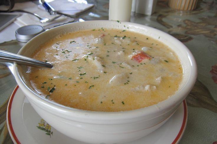 Seafood Chowder Recipe fr Nova Scotia | RealFoodTraveler.com