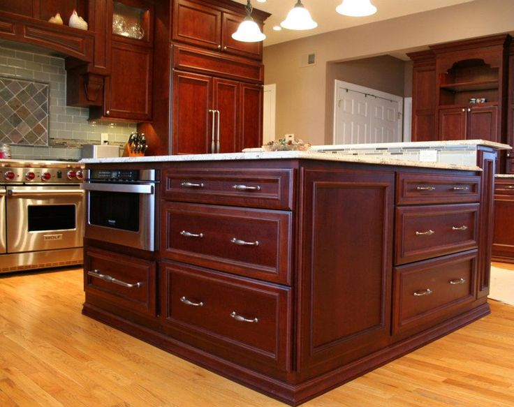 Best Islands Images On Pinterest Kitchen Remodeling Cherry
