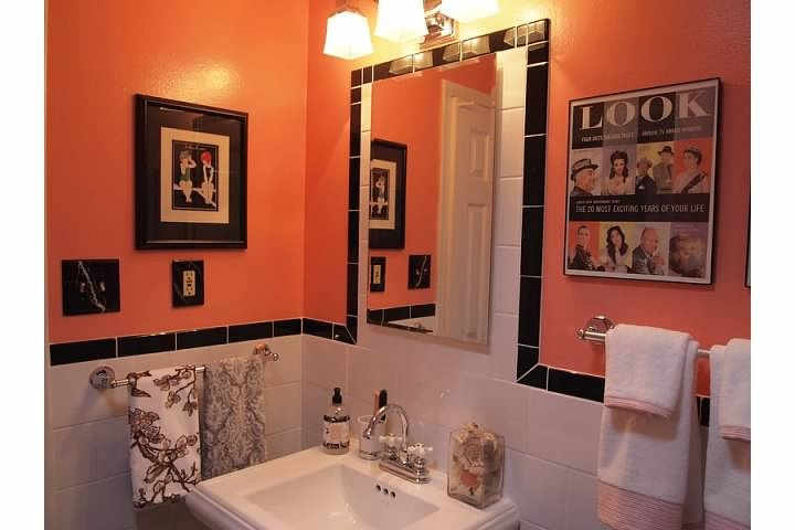 20 best bedroom paint ideas images on pinterest for Salmon bathroom ideas