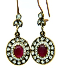 antique ottoman style  vintage earring