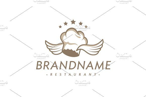 For sale. Only $29 - travel, food, cooking, fast, fly, flying, sky, speed, star, chef, kitchen, luxury, feather, angel, wings, cook, dinner, hat, angelic, delicious, brown, golden, restaurant, delivery, bistro, pizzeria, bakery, culinary, eat, meal, event, logo, design, template,