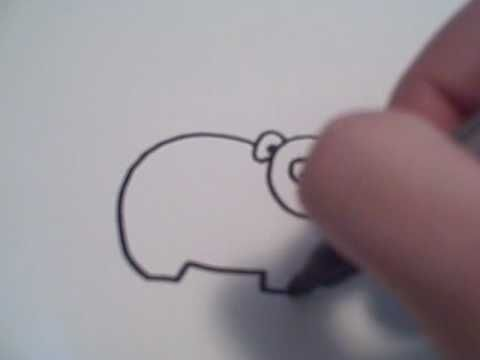 how to draw a bear cartoons youtubne