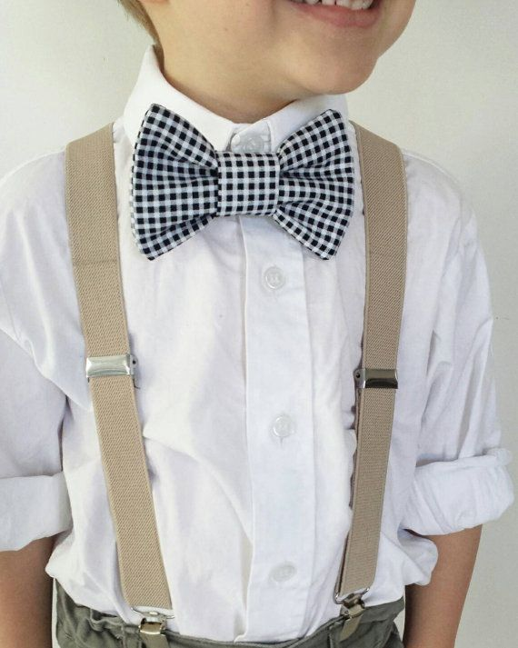 Little boys bow tie & Suspenders set Check out this item in my Etsy shop https://www.etsy.com/au/listing/249053546/bow-tie-suspenders-set-3-10-years-little