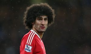 Manchester United to assess Marouane Fellainis possible hamstring tear