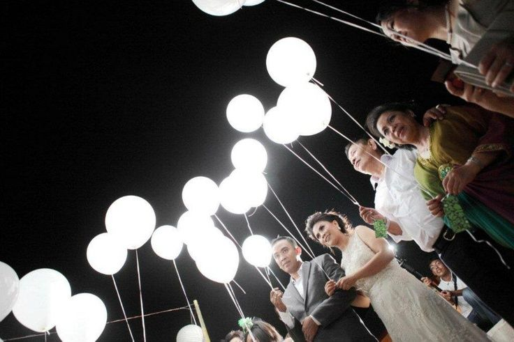 Palloncini luminosi a led