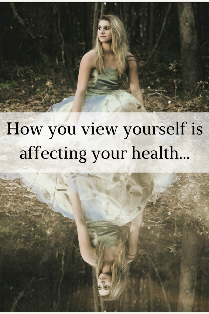 If you have a bad image of yourself it could be affecting your health. Learn how to have a positive self image and radiant health!