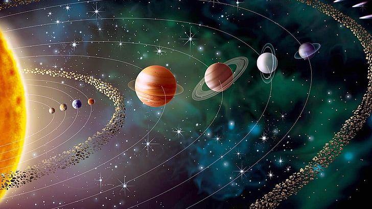 1440x2560px Free Download Hd Wallpaper Solar System Digital Wallpaper Space Earth Sun Planets Un In 2020 System Wallpaper Solar System Wallpaper Solar System