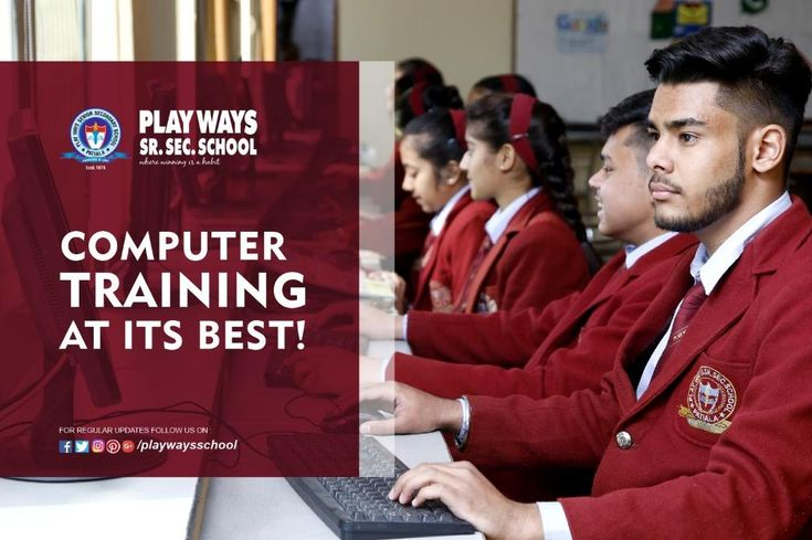 #PlayWaysSchool Practical Computer knowlegde has become an important requirement in today's world. To create a strong base, Playways Senior Secondary School provides a well- equipped Computer Lab where students can learn how to deal with computer networking. Simple study schedules give a clear picture to the students about computer technology. Every student gets access to computers which improves the learning skill & knowledge! #BestEducation #Patiala Contact us :- +9198150-79000