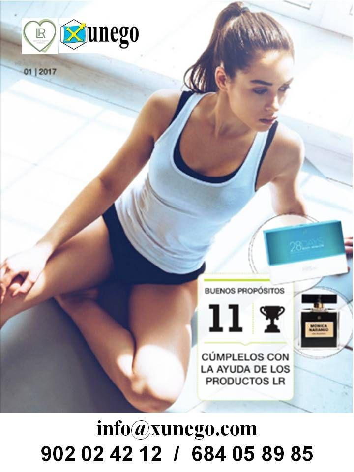 La portada del catálogo de LR Health & Beauty, correspondiente al mes de enero de 2017.