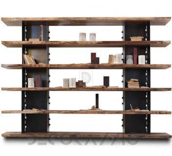 #wooden #wood #woodwork #furniture #furnishings #eco #design #interior #interiordesign #decoration #decor стеллаж Riva 1920 Brie, Brie-Comp.2