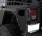 Smittybilt Part 76881 - XRC Full Rear Corner Armor