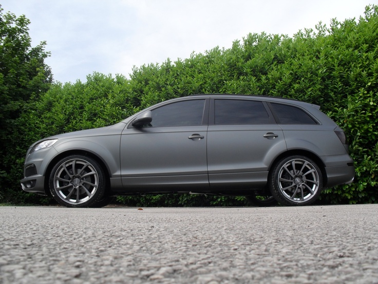 Audi Q7 - these rims are nice