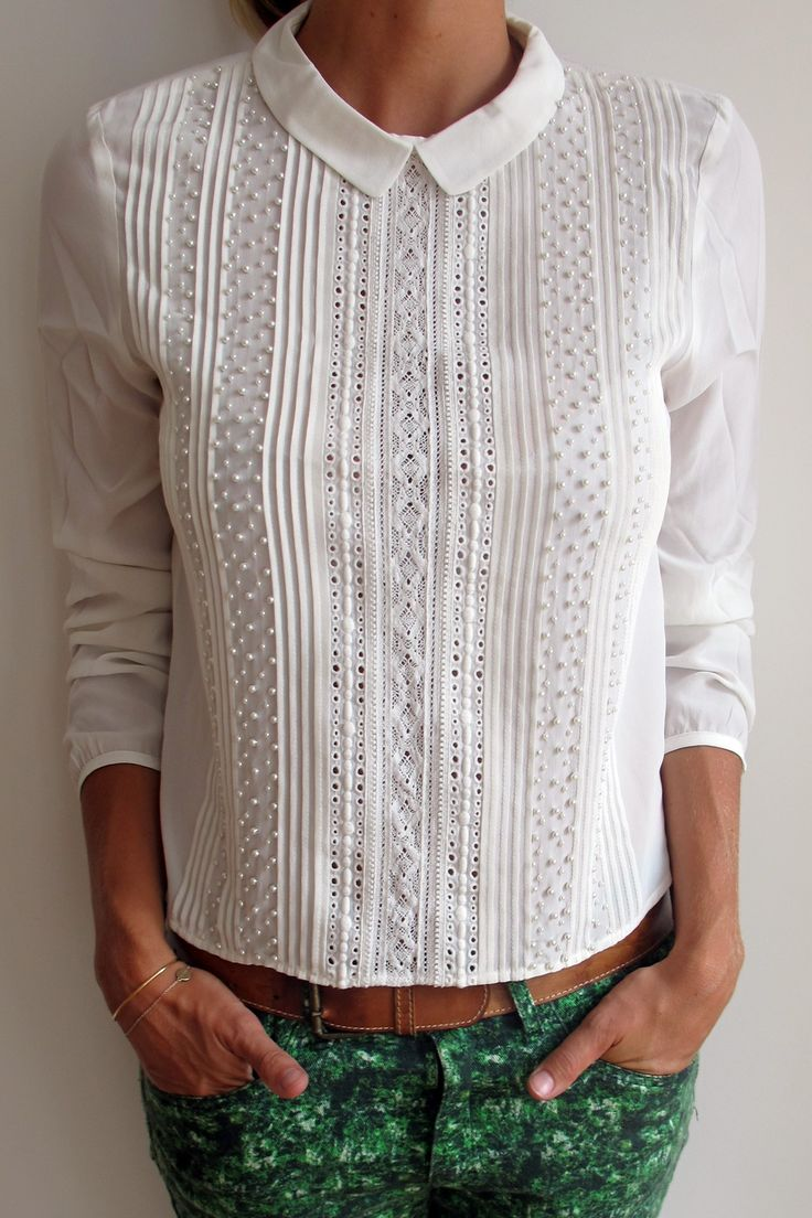 Lovely blouse.