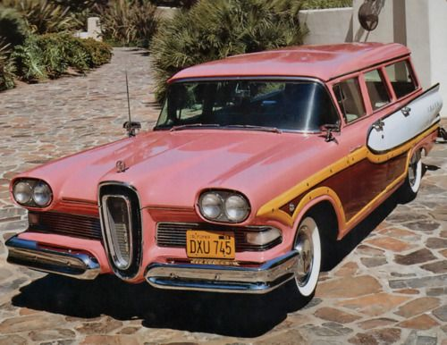 1958 Edsel Bermuda... Scary enough to be in this group so you can see what classic cars DON'T look like!