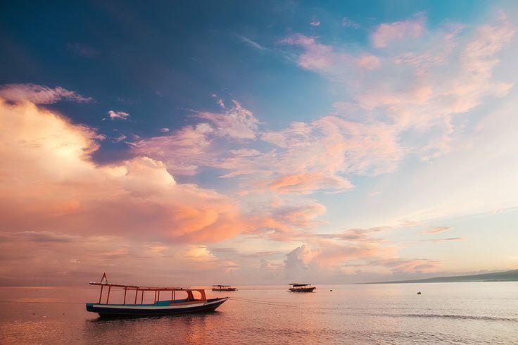 Gili Islands. Sunrise. by Mikhail Panfilov