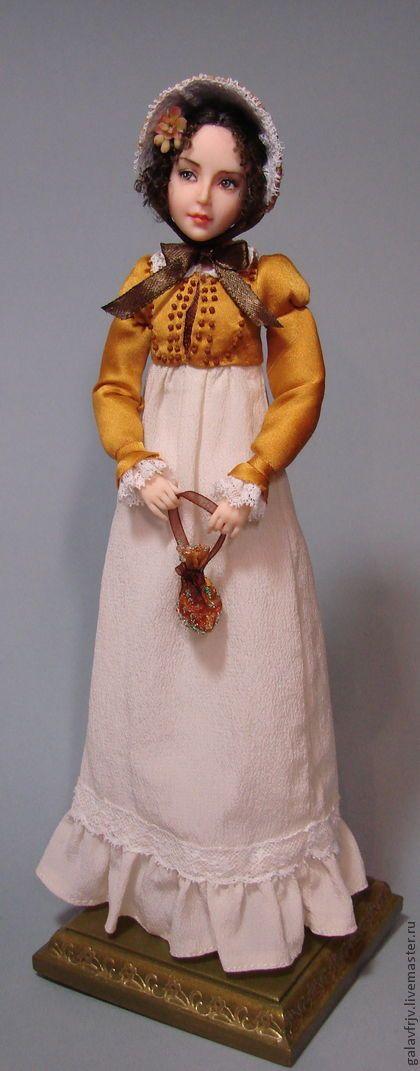Коллекционные куклы ручной работы: Элизабет Беннет. Handmade.