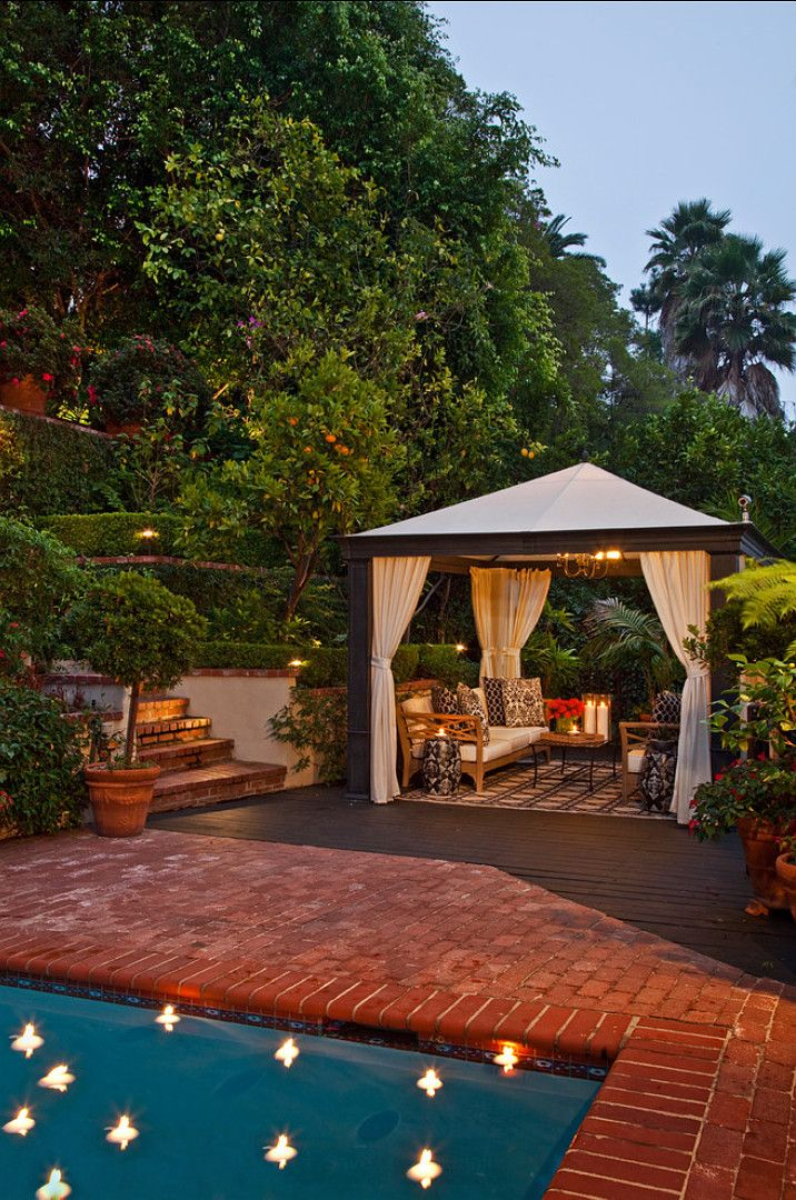 Pool Gazebo Ideas have you ever thought of pool pergola Backyard Ideas Backyard With Pool Ideas Smith Firestone Associates
