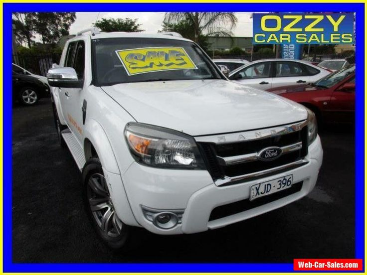 2009 Ford Ranger PK Wildtrak (4x4) White Automatic 5sp A Dual Cab Pick-up #ford #ranger #forsale #australia