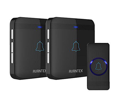 From 22.99 Wireless Doorbell Avantek Ip55 Door Bells Chime Kit With 2  Plug In Receivers