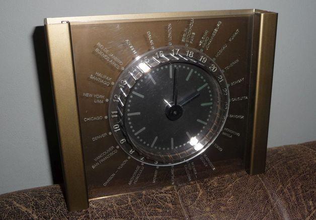 Weiteres - Weltzeituhr Weltuhr Uhr aus den 80igern - ein Designerstück von DerkreativeMann bei DaWanda