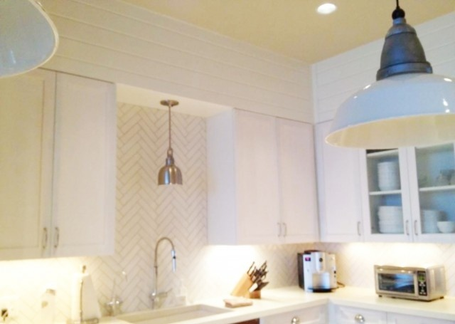 2x8 Tile In Herringbone Pattern For Kitchen I Adore A