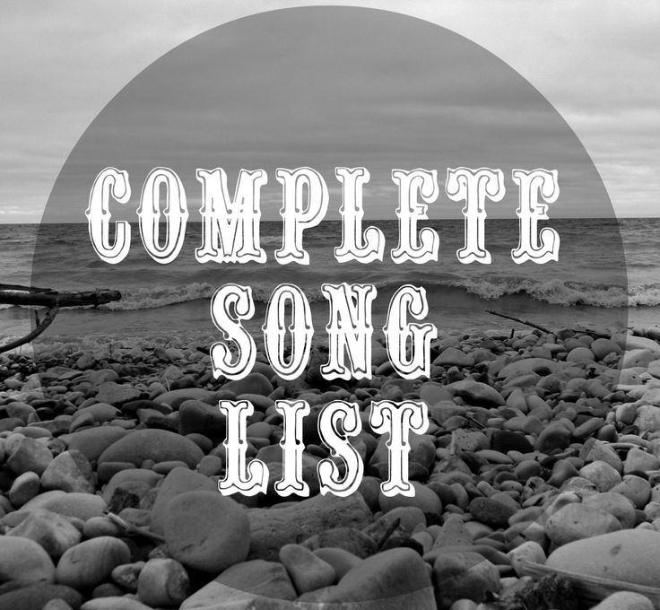MASSIVE list of campfire songs