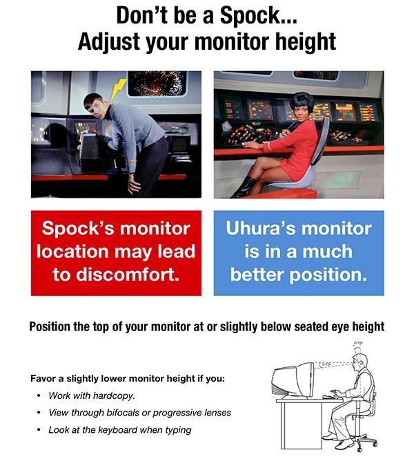 Star Trek humor for the office