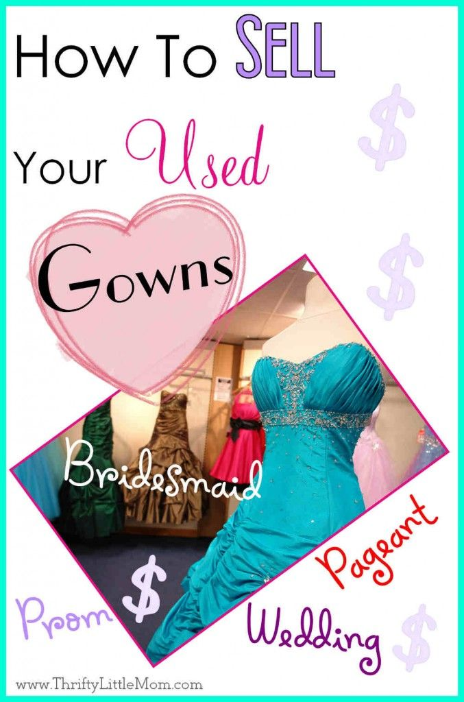 How to sell your used wedding gowns prom dresses formal for How to sell wedding dress never worn