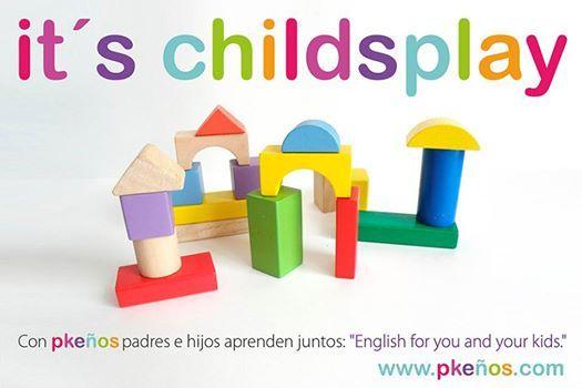 """Ayúdanos llegar a más #familias. Es fácil, como dicen en #inglés """"it´s childsplay"""". Please like or share! Muchas gracias. www.pkenos.com"""