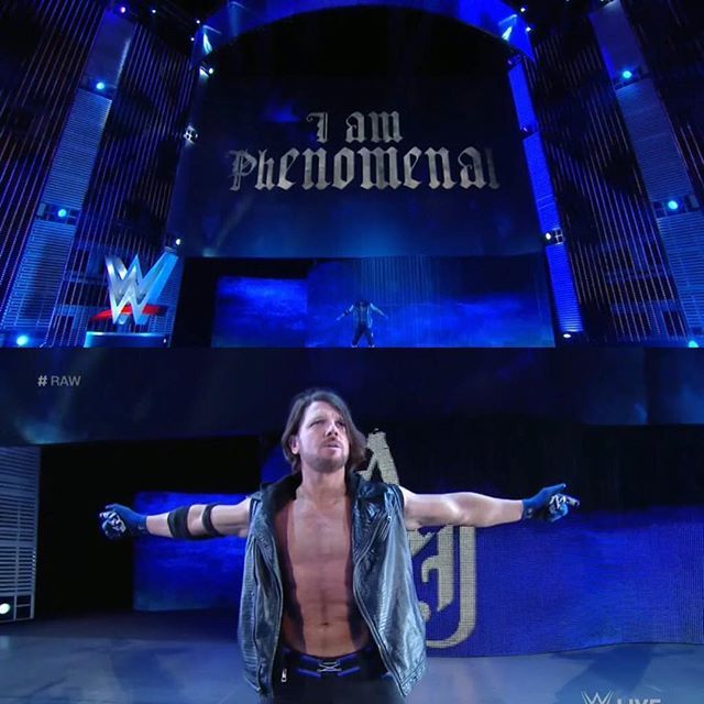 """My oldest son went and told a buddy, one of his close friends, that, 'My dad works for WWE,' before the Rumble and told his mom. She says, 'You can't tell people this.' …The next day, he went and told his best friend that he was lying, so I really appreciated that."" –AJ Styles, on trying to keep his WWE debut a secret; Talk is Jericho #219 (2/5/16)"