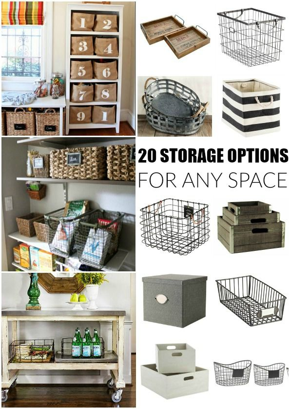 20 Storage Options For Any Space