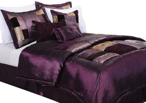 Epoch Hometex, Inc Florence King Bed Set, Eggplant by Epoch Hometex, Inc. $101.99. 100-Percent polyester. Over sized. Over filled. Pieced and embroidered. Machine washable. Florence will bestow an elegant and romantic feel to your bed. Floral embroideries combine with faux silk and faux suede to provide a luxurious look normally found only with the most expensive of comforter ensembles. The comforter and shams are overfilled with high quality soft polyester, and ...